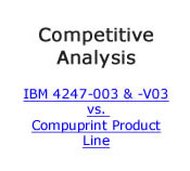 Compare IBM to Compuprint