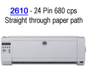 Tallydascom LA2610 printer