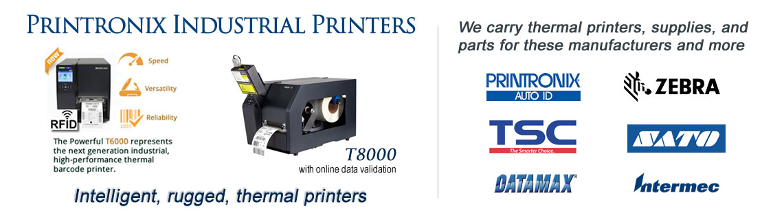 Printronix thermal printers